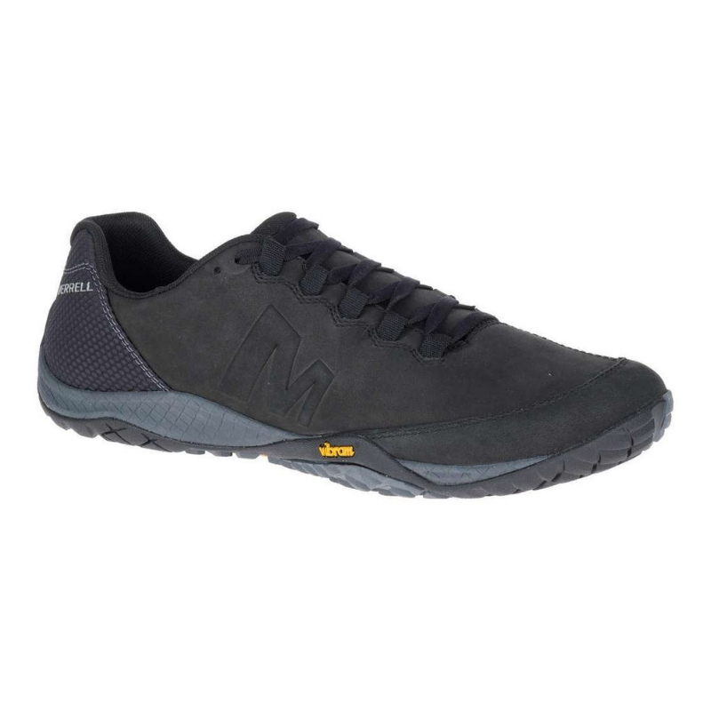 MERRELL CASUAL PARKWAY EMBOSS LACE BLACK 1