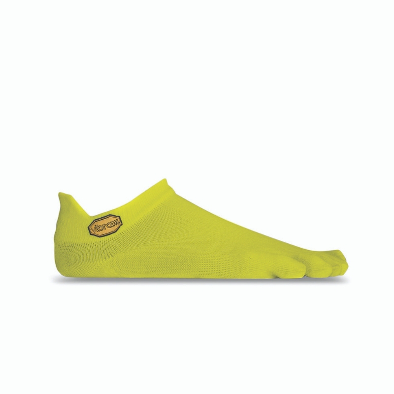 CALCETIN VIBRAM ATHLETIC NO SHOW YELLOW 1